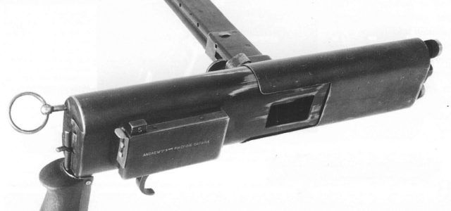 Some Guy Named Andrews Invented a Very Odd Submachine Gun