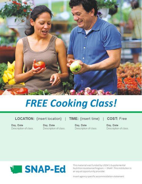 A screen shot of Farmers Market flyer 1.