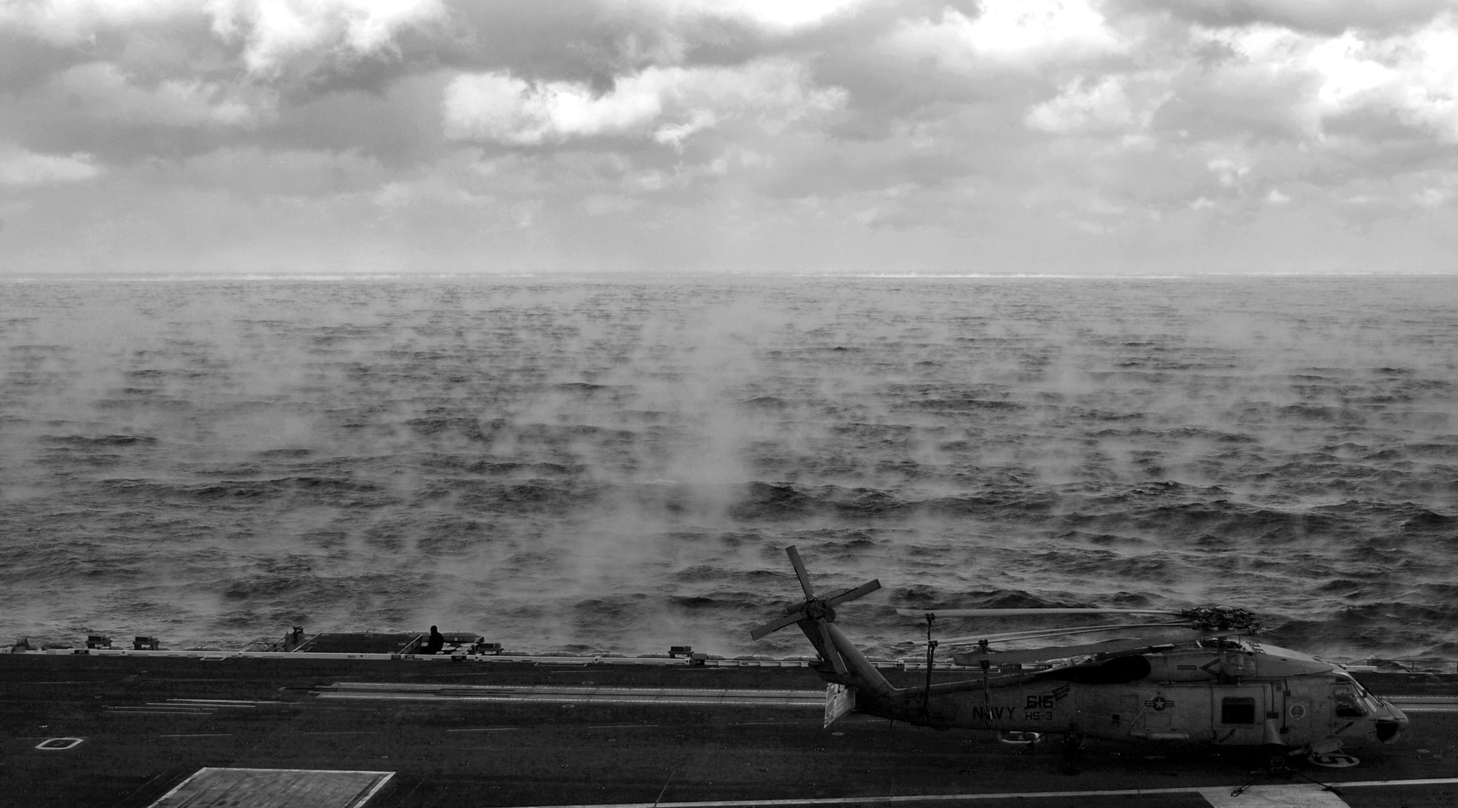 US Navy Steam Fog Sea Smoke