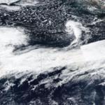 Yesterday's image of the powerful jet stream from the polar-orbiting SUOMI NPP satellite.