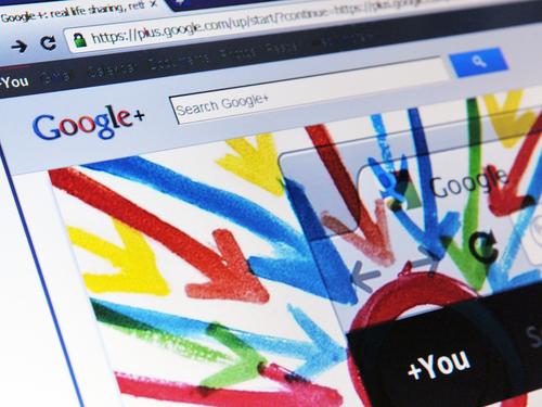 Printscreen de Google+