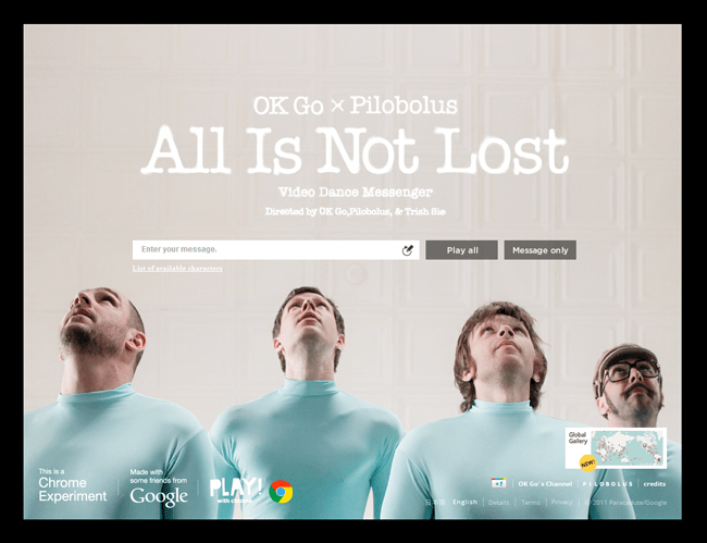 Homepage de No todo está perdido