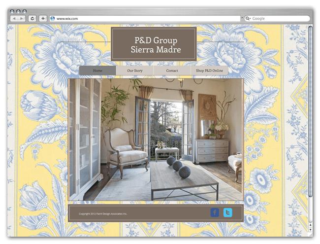 Sitio HTML5 Wix de P&D Group Sierra Madre