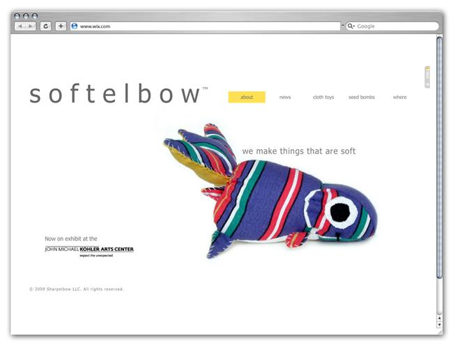 Página de Inicio de Juguetes Softelbow