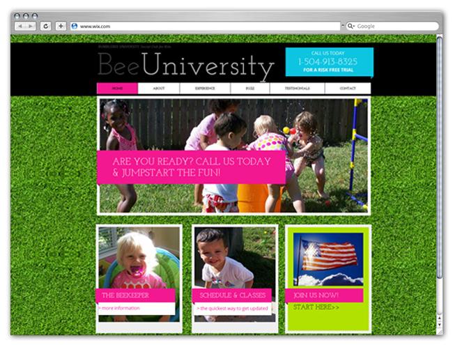 Sitio web educativo para niños