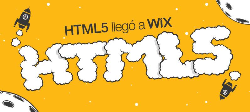 El HTML5 llegó a Wix
