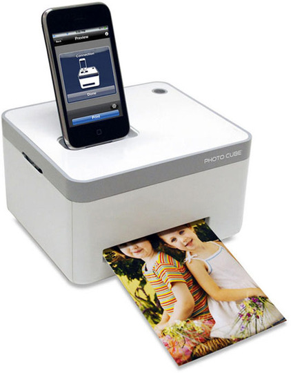 Impresora Photo Cube para iPhone