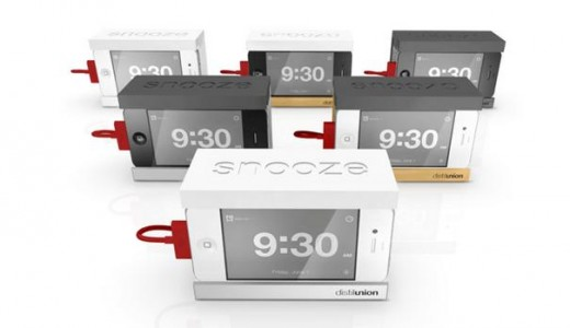 Snooze, el dock despertador para iPhone
