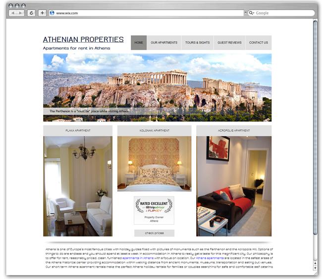 Athenian Properties | Greece