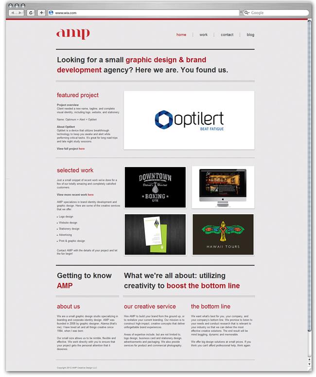 amp Creative Design Diseñado por ampcreativedesig