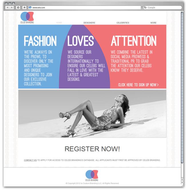 Celeb Branding Diseñado por Smalldotdesign