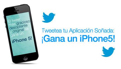 ¡Gana un iPhone 5!