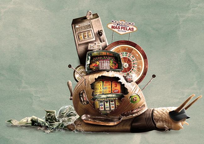 Caracol estilo casino en las vegas