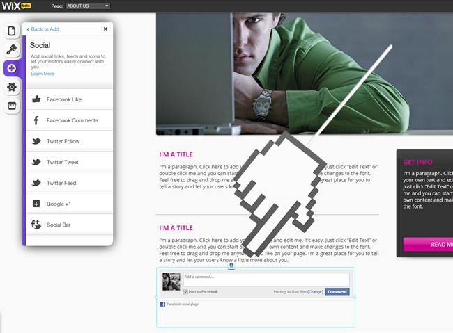 Personaliza tu sitio Wix con Comentarios de Facebook