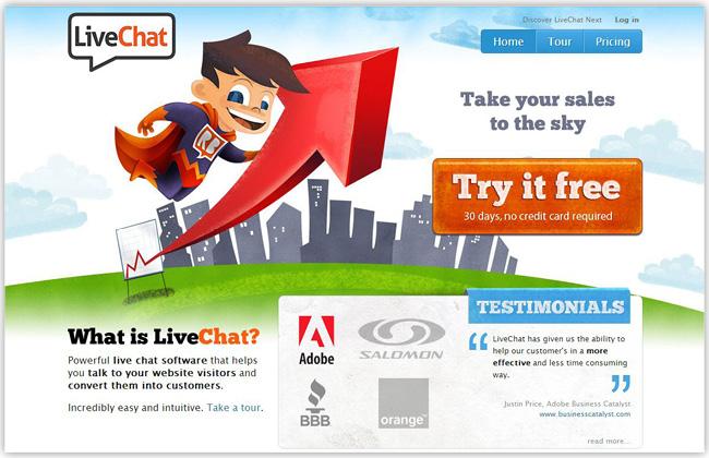 Aplicación Live Chat