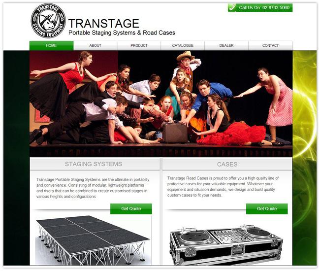 Página de Inicio de Transtage