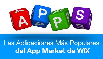 Las aplicaciones más populares del Wix App Market