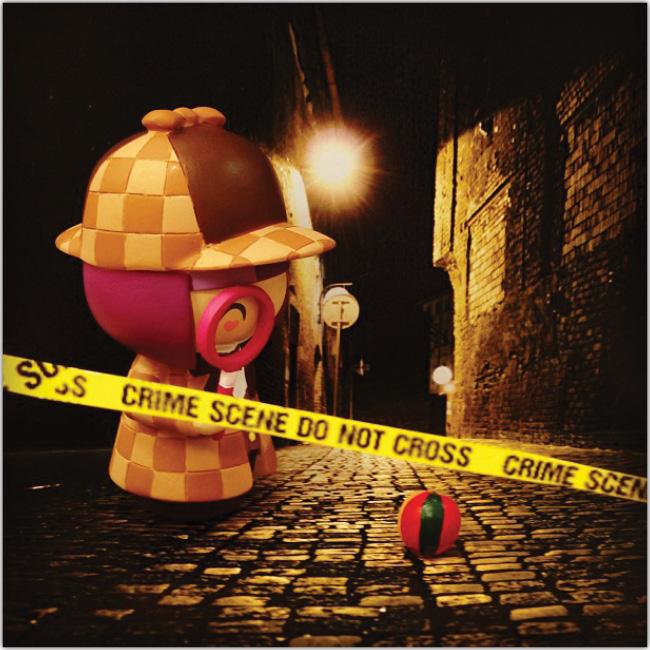 Muñeco detective