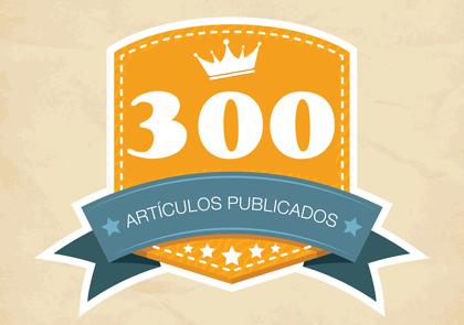 300 Artículos Publicados