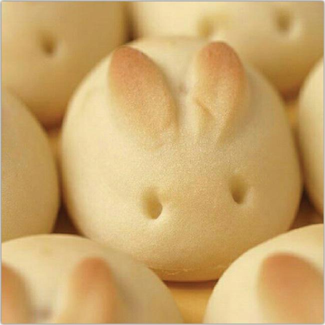 Galletitas con forma de conejos