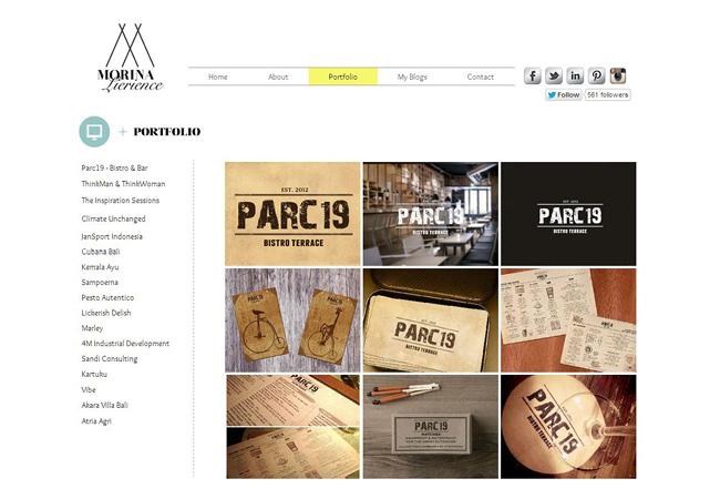 Sitio web de Morina Lierience
