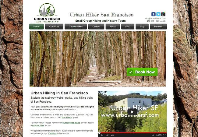 Servicios de paseos a pie en San Francisco