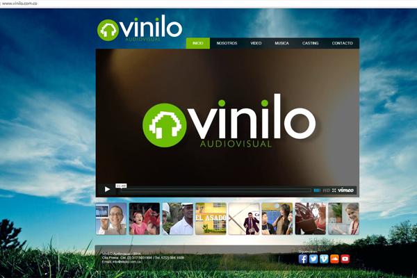 VINILO Sitio Wix