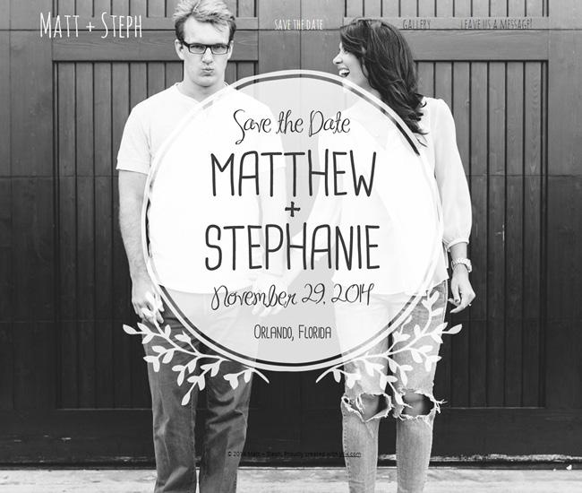 Matt and Steph