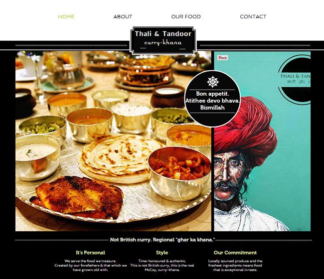 thali and tandoor