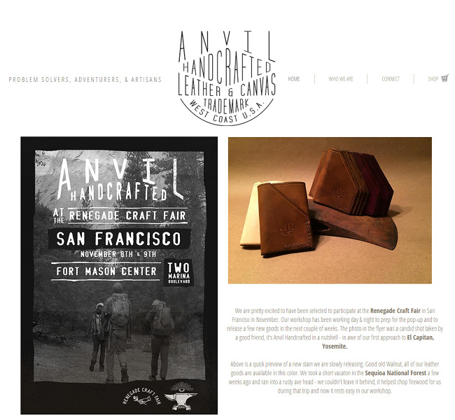 Anvil Hand Crafted