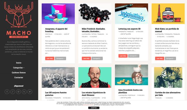 Blog de Diseño Web en Español