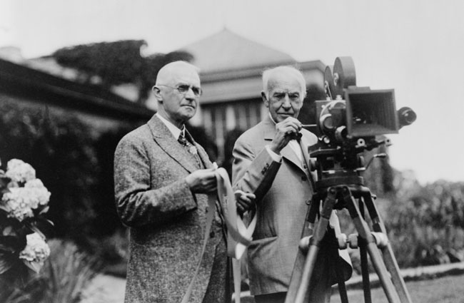 Fotografía de Thomas Edison