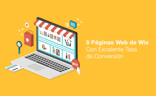 5 Páginas Web de Wix Con Excelente Tasa de Conversión