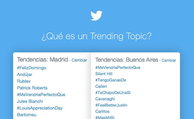 ¿Qué es un Trending Topic?
