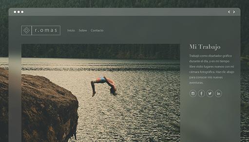 Plantilla Web para Crear un Sitio Web