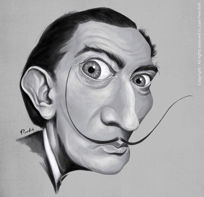 Salvador-Dali-by-Juan-Perednik
