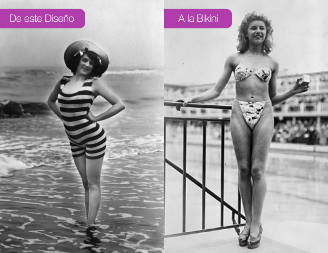 Moda: La Bikini Lo Cambió Todo