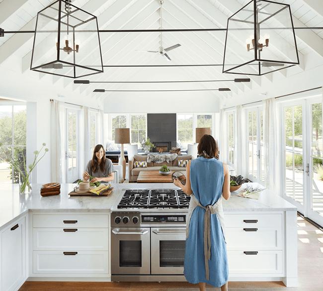Diseño de Interiores: El Diseño Abierto Que Unió Familias
