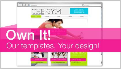 Own It! Our Templates, Your Design Round #9