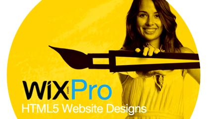 Inspiring HTML5 Websites Designed by Wix Pros