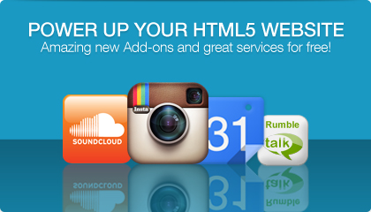 Fantastic AddOns for HTML5 Websites