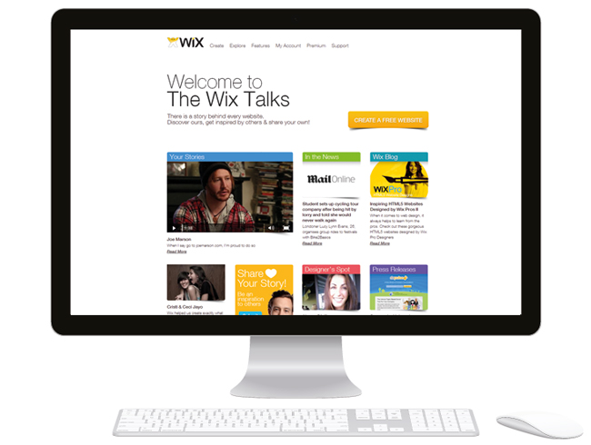 Introducing Wix Talks: Your Website, Your Story