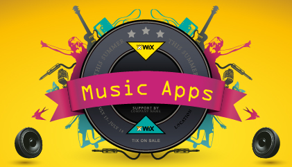 Top 5 Wix Apps for Music Websites