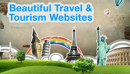 Beautiful Travel & Tourism Websites
