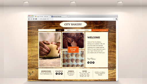 Showcase of 20 Wix Websites Based on a Single Food Template
