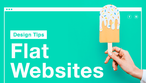 Back to Flat: 10 Tips for Designing a Gorgeous Flat Website