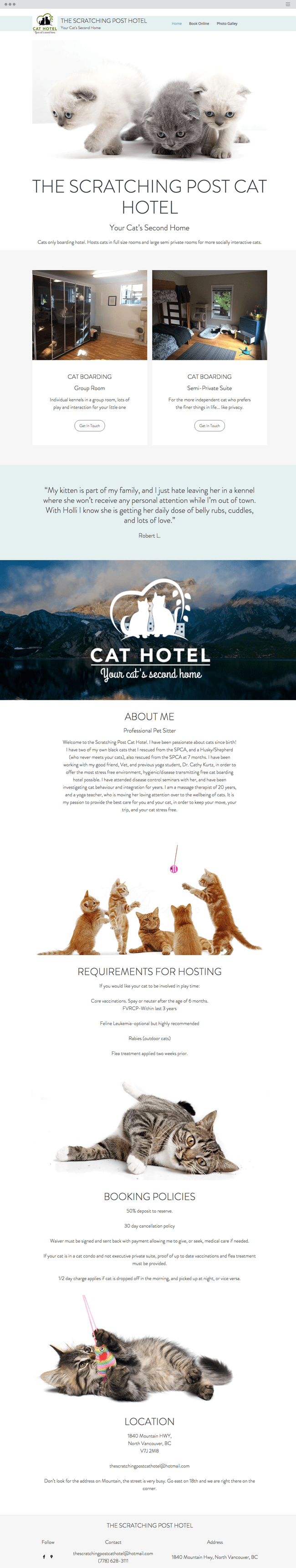 cats site