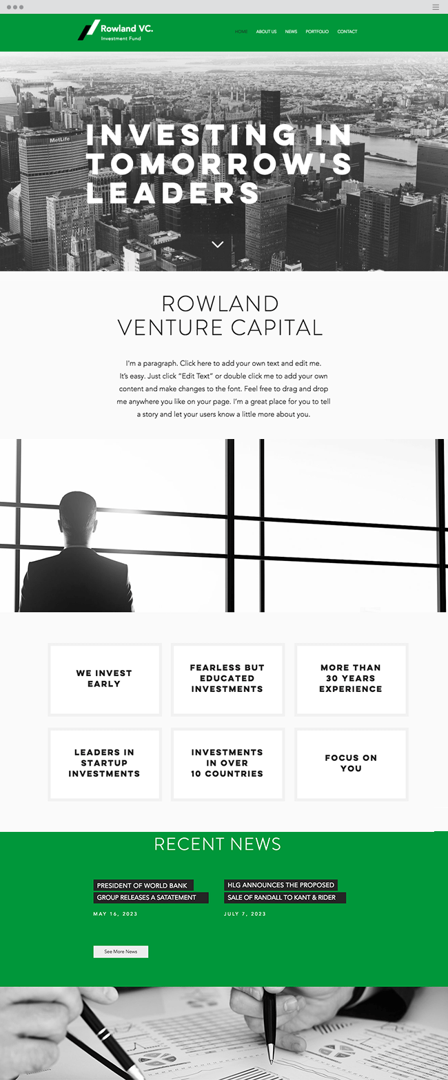 Investment Firm Website Template _site