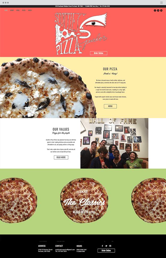 Scottie s Pizza Parlor