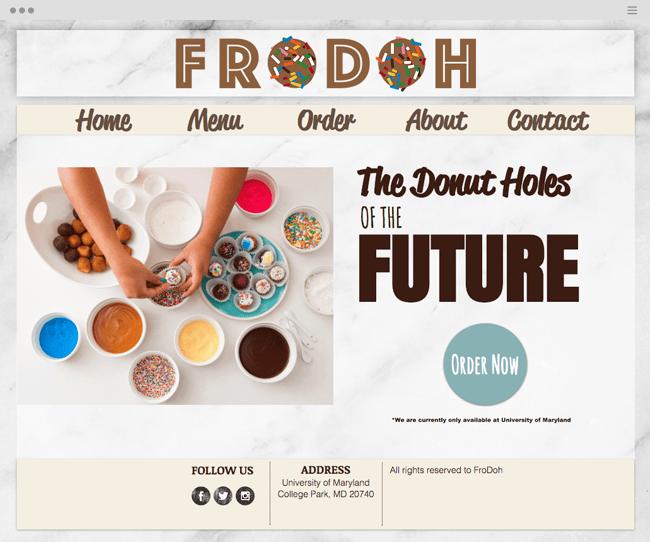 FroDoh Gourmet Desserts